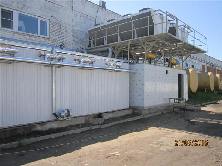 БНЛ-5. Шумерлинский молочный завод (Республика Чувашия)