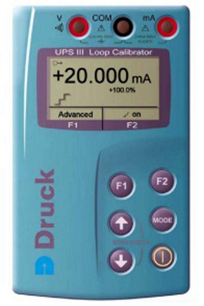 Druck UPS-III (IS) loop calibrator калибратор токовой петли