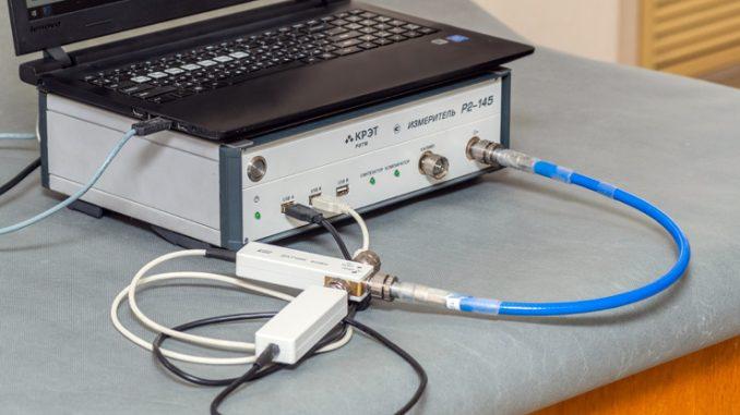 измеритель модулей коэффициентов передачи