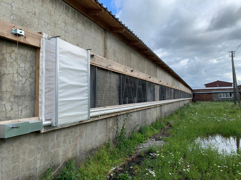 Вентиляционные шторы ПВХ
